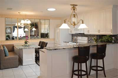 Black-White-and-Glam Kitchen-reface-in-Colony-Villa