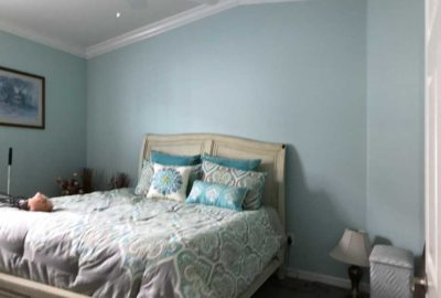 Before, we moved the Bed into the Guest Bed-Room