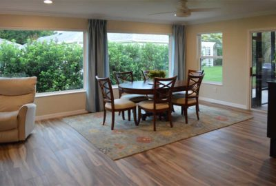 Gardenia-Lanai, This table is for cards or eating.