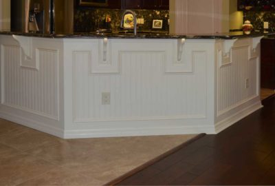 After, with pretty Wainscot