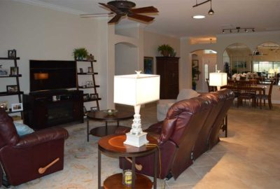 Living-room and Dining-room of Lantana