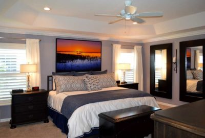 After of Master Bedroom.