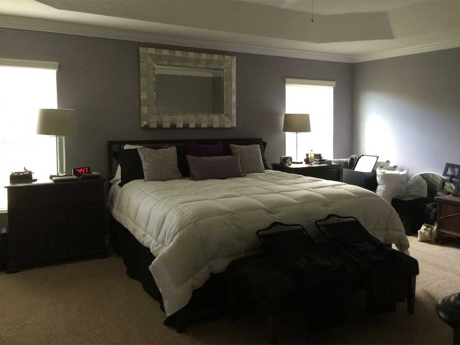 Before of Master Bedroom.