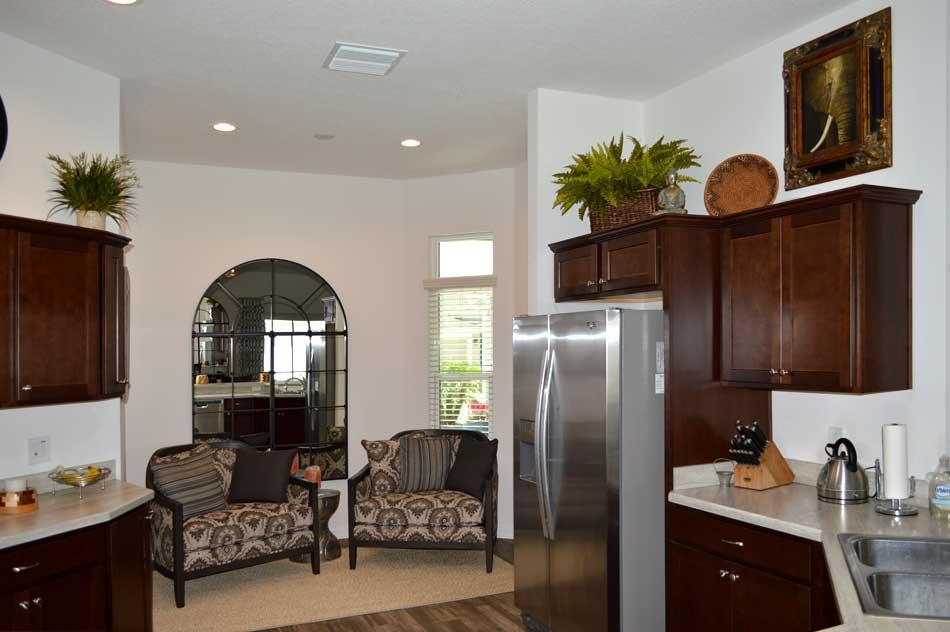 Kitchen Nook straight on view