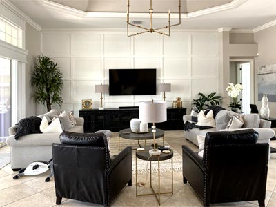 Image of a St. Charles model - Finishing Touch - Home Décor by Ruth Dyer