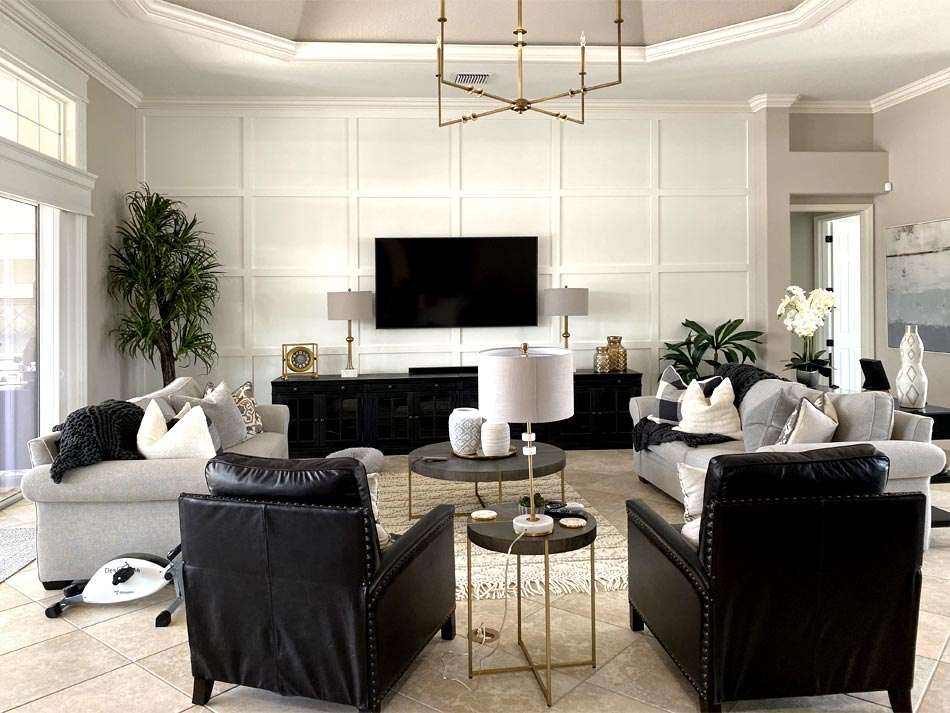 Living Room is where they keep the Light!
