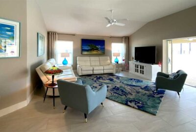 After is Light Bright and Colorful - Home Décor by Ruth Dyer - in the Villages of Florida.