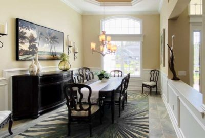St. Charles Dining Room - Interior Design - in the Villages of Florida.