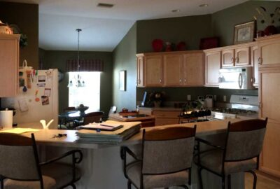 Before is Dark - Interior Design - Home Décor by Ruth Dyer