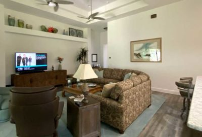 Before looked very plain but nice - Interior Design - in the Villages of Florida.