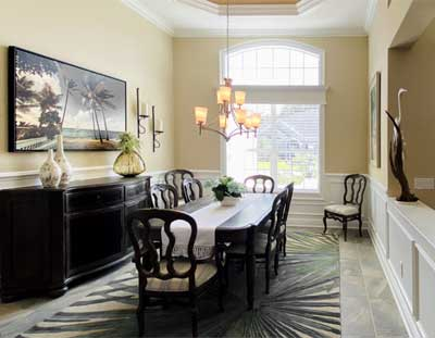 St. Charles Dining Room - Interior Design - by Ruth Dyer.