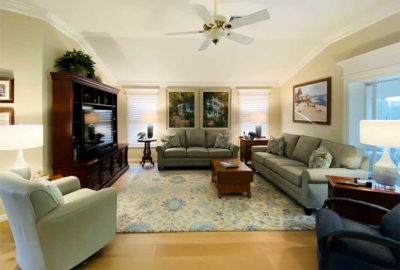 After Image of Gardenia model Living room - New Lighter Look.