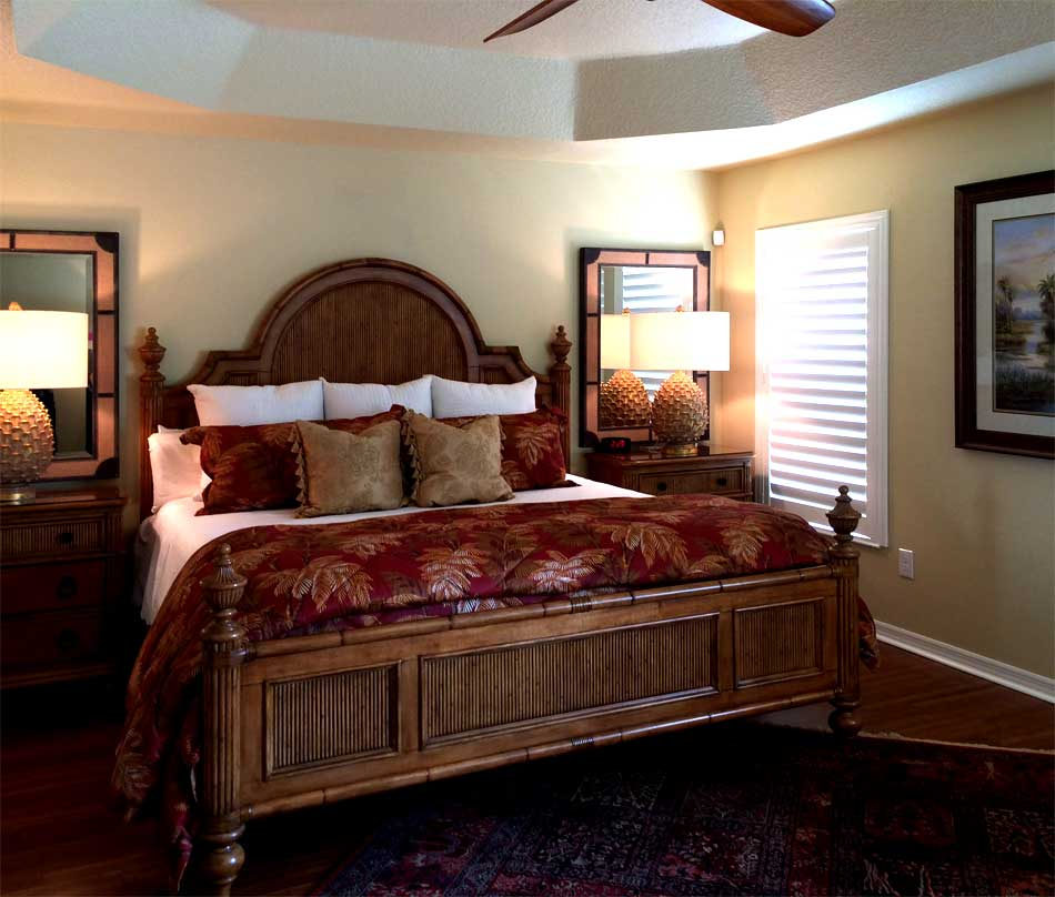 After, looks rich and bed is easier to make - Interior Design - Home Décor by Ruth Dyer