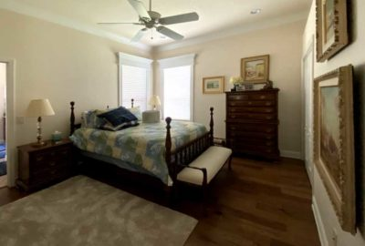 Before Image of a St. Charles Guest Bedroom - Interior Design - in the Villages of Florida.