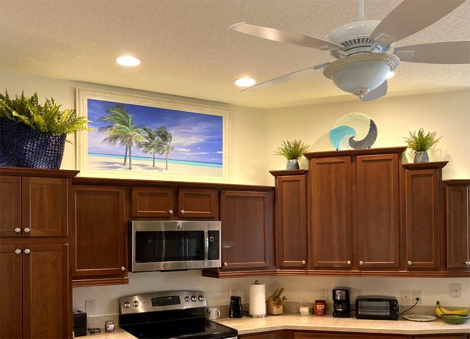 Gardenia Kitchen - Interior Design - in the Villages of Florida.