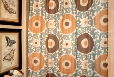 Bathroom demonstrating several basics - Interior Design - Home Décor by Ruth Dyer