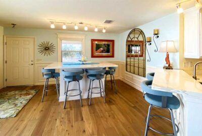After looks Big and Bright - Home Décor by Ruth Dyer - in the Villages of Florida.