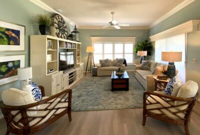 After looks Fresh and Bright - Interior Design - in the Villages of Florida.