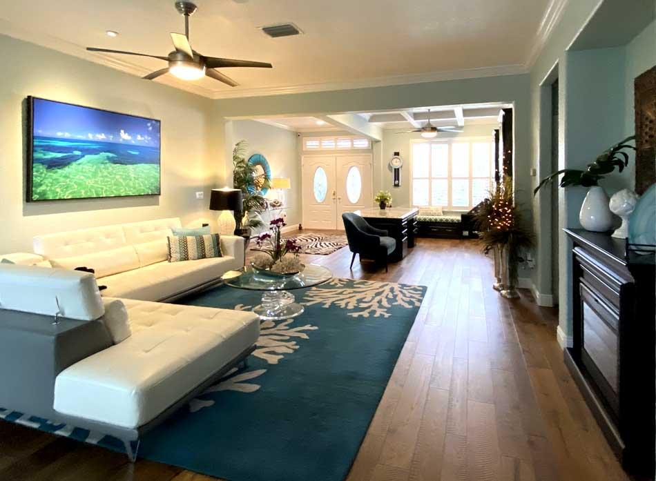 Another After Picture - Interior Design - in the Villages of Florida.