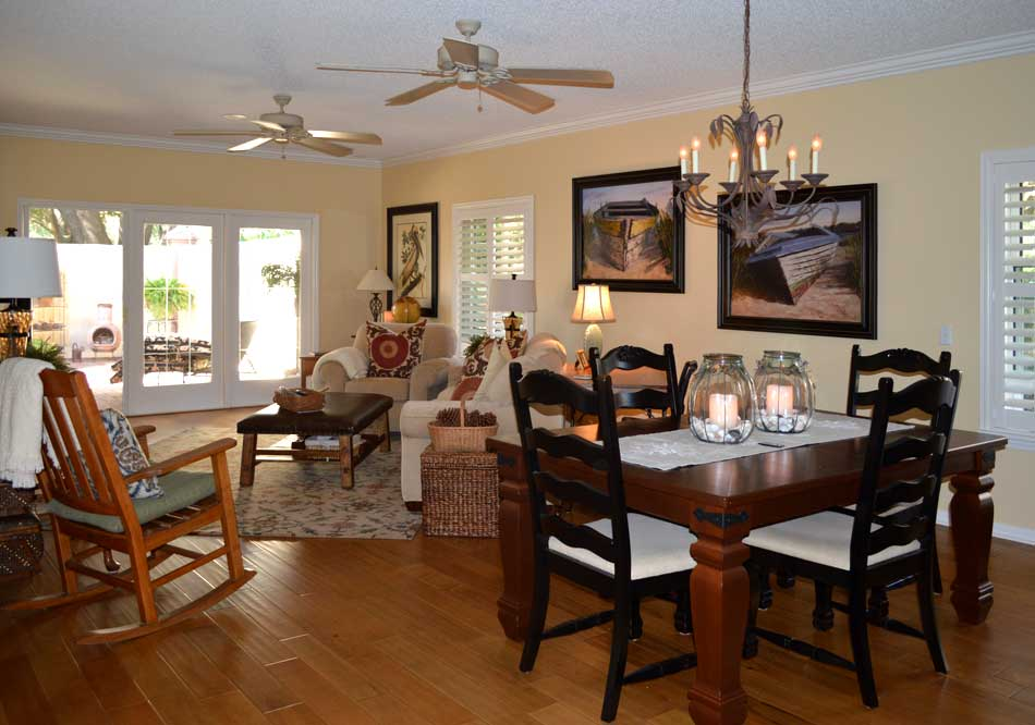 Before, different direction - Interior Design - in the Villages of Florida.