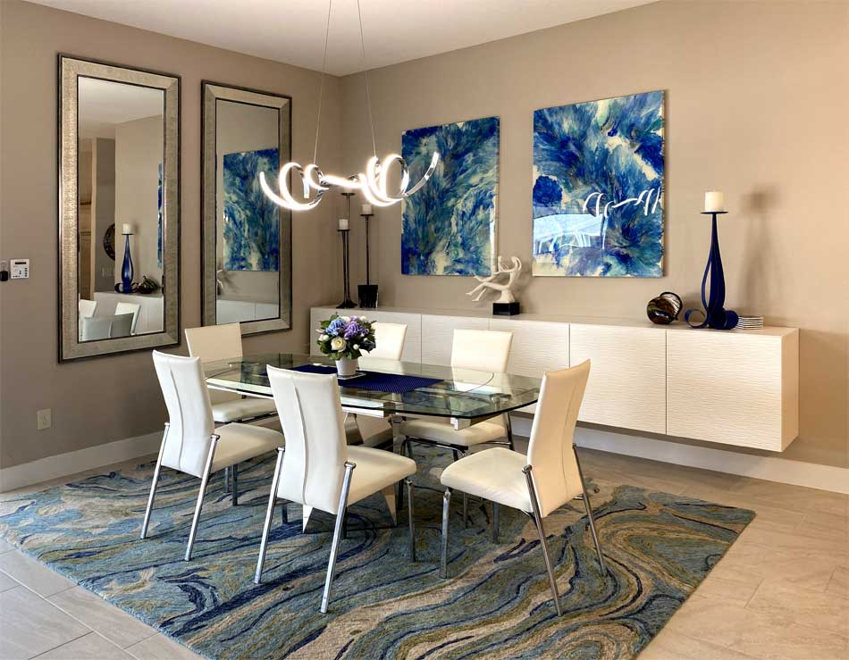 After, Light and Bright with Awesome Art - Interior Design - Home Décor by Ruth Dyer.