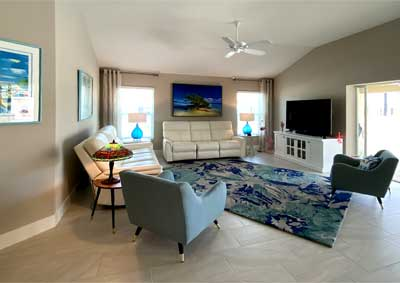 Light Bright and Colorful - Interior Design - in the Villages of Florida.