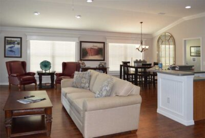 After of the Arlington looking toward the windows - Interior Design - Home Décor by Ruth Dyer.