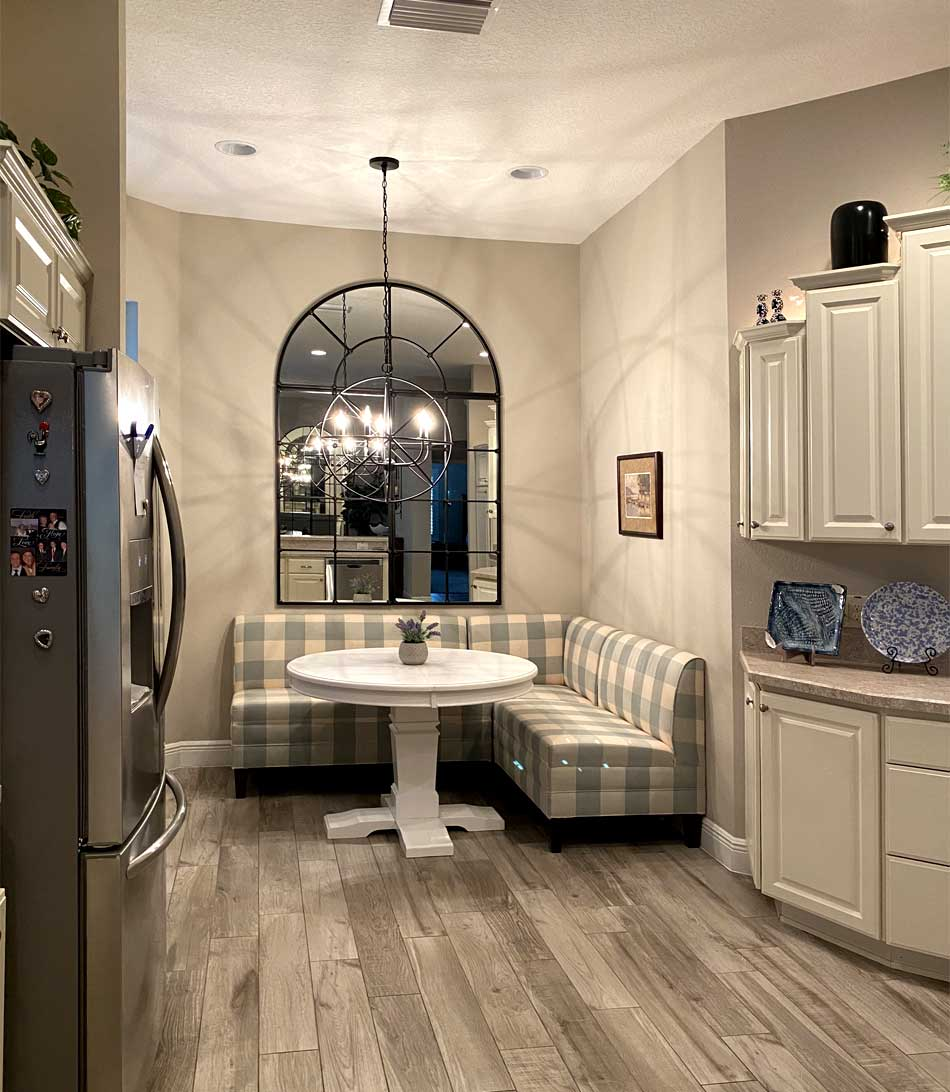 One more of the eat-in kitchen_vertical - Home Décor by Ruth Dyer - in the Villages of Florida.