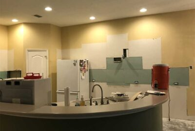 Before and after demo - Home Décor by Ruth Dyer - in the Villages of Florida.